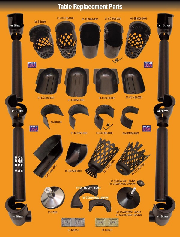 Billiard Components